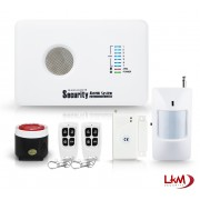 Allarme Antifurto LKM Security® completo Gsm Wireless Senza Fili gestibile da Applicazione iPhone e Android