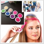 Hot Huez Temporary Hair Chalk Set of 4 Colors Hues Of Temporary Compact Chalks