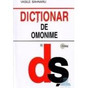 Dictionar de omonime - Vasile Bahnaru
