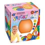 Feuchtmann Giocattoli 6210900 - kit di costruzione Stecki Infant uno per due, Scatola Scodella, 12 pezzi