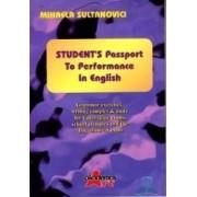 Students passport to performance in english - Mihaela Sultanovici