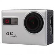 F68 Portable 4K Ultra HD WiFi Waterproof Sport Camera 2.0 inch Screen Novatek 96660 170 A+ Degrees Wide Angle Lens Water Resistant Depth: 30m(Silver)