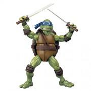"""PlayMates - Figura de acción coleccionable de leonardo (1990) de la película """"las tortugas ninja - ninjas adolescentes"""""""