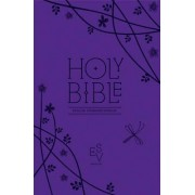 Holy Bible: English Standard Version (ESV) Anglicised Purple Compact Gift edition with zip by Collins Anglicised ESV Bibles