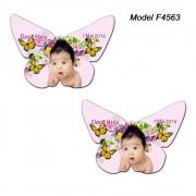 Magnet Botez Personalizat Fetite