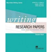 Writing Research Papers - from Essay to Research Paper by Dorothy E. Zemach