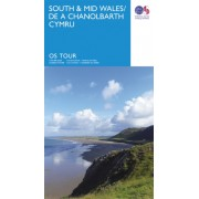 Fietskaart 11 Tour Map South & Mid Wales / De a Chanolbarth Cymru | Ordnance Survey