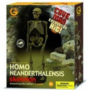 Geoworld Cave Man Excavation Kit - Homo Neanderthalensis Skeleton