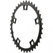 Sram Chainring Road 38t 5 Bolt 110 Bcd Alum (52-38) 3mm Black [Misc.]