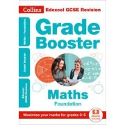 Edexcel GCSE Maths Foundation Grade Booster for grades 3-5 by Collins GCSE