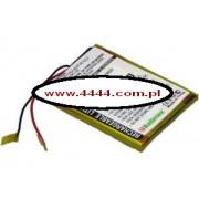 Bateria Creative Zen 4GB 600mAh 2.2Wh Li-Ion 3.7V