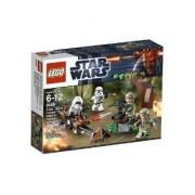 Lego Star Wars Endor Rebel Trooper And Imperial Trooper (9489)