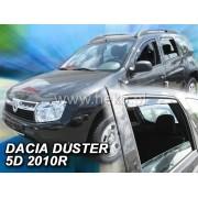 Deflektory komplet 4 ks - Dacia Duster, 2010-