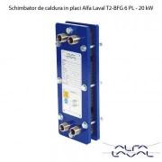 Schimbator de caldura in placi Alfa Laval T2-BFG 6 PL - 20 kW