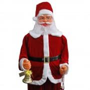 Papai Noel Dança e Canta 1,80m Bivolt 1499 - Vermelho