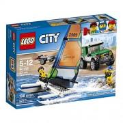 LEGO City Great Vehicles 4x4 with Catamaran 60149 Building Kit