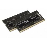 Kit Memoria RAM Kingston HyperX Impact DDR4, 2133MHz, 8GB (2 x 4GB), CL13, SO-DIMM, XMP, Single Rank