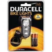 Luz frontal de bicicleta Duracell 3 LED (BIK-F02WDU)
