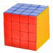 Juguetes educativos 4 * 4 * 4 cubo magico IQ - Rojo + Blanco + Multicolor