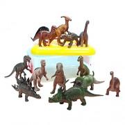Wülfinger 477-30 - Dinosaur set di 12 in scatola, Dinosauro