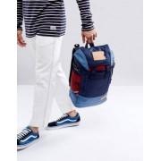 Eastpak Bust Backpack In Merge Mix Blue - Grey
