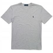 Ralph Lauren Cotton Jersey V-Neck T-Shirt Light Gray