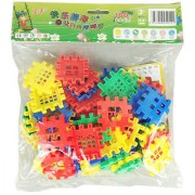 Magideal Educational Puzzle Kids Block Shape Building Diy Game Blocks 1Bag Toys