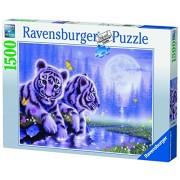 Ravensburger 16266 - Puzzle da 1500 pezzi, soggetto: cuccioli di tigre