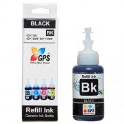 Gps Compatible ink for Brother T300 / T500 / T700w / T800w premium black ink 75gms. 1 bottle all brother universal ink