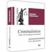 Criminalistica - Marin Ruiu Emilian Stancu