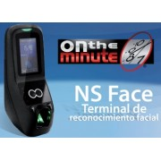Sistema de control de asistencia NATIONAL SOFT On the minute 4.5 - 4.5, 300 usuarios, Negro