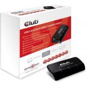CLUB3D SenseVision USB3.0 to DVI-I & HDMI Graphics Adapter