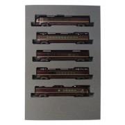 JR East Series E655 [Nagomi] (5-Car Set) (Model Train) [Toy] (japan import)