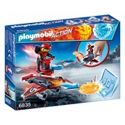 Playmobil 6835 - Fire-Robot con Space-Jet Lanciadischi