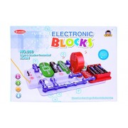 Planet of Toys Learning Science Electronic Circuit Blocks - Create Exciting Projects (Big) For Kids, Children