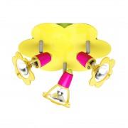 energie A++, Plafondlamp Maya - 3 lichtbronnen, Brilliant