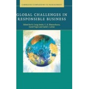 Global Challenges in Responsible Business by N. Craig Smith
