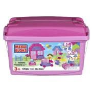 Mega Bloks - 07536U - Set de construcción - Conceptos básicos de la edificación - Bloques Bañera Mini - Rosa