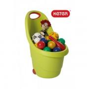 Кош за играчки с колелца Keter Kiddies Go