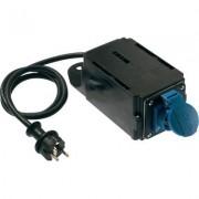 AS Schwabe bekapcsolási áram határoló, 230V, IP44, fekete, H07RN-F 3G1,5 (612975)