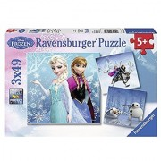 Ravensburger Disney Frozen Winter Adventures Puzzle Box (3 x 49-Piece)