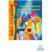 Idei Creative 42 - Ornamente Din Hartie Si Margele Termo-Adezive - Sybille Rogaczewski