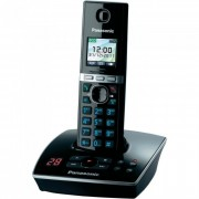Telefon DECT PANASONIC KX-TG8061FXB, negru, fara fir