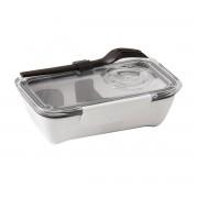 Black + Blum - Box Appetit Bento Box, schwarz / weiß