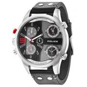POLICE Herren-Armbanduhr COPPERHEAD Analog Quarz Leder P14374JS-02