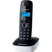 Telefon DECT Panasonic KX-TG1611FXW Alb-Negru