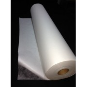 Voile thermocollant avec papier double face appliqué collé 75cm