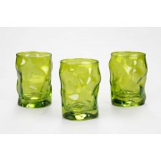 Bormioli Rocco Sorgente Verde üdítős pohár 3 darab - 119638