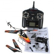 New WL V911 4 CH Single Rotor Helicopter Version 2 New & Improved Black