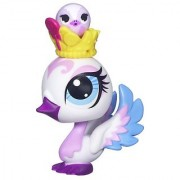 Littlest Pet Shop Favorite Pets Swan and Swan Friend #3239 and #3240